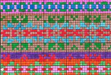 Mønster på strik
