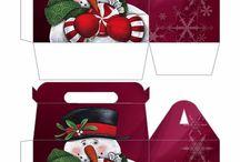 Χριστουγεννιάτικες συσκευασίες