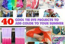 Tie dye / Love to do
