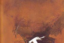 oiseau blanc en vol
