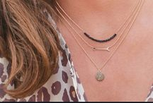 Layering necklaces / Layering multiple necklaces is a hot style, and this is how it is done right!