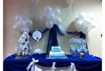 Comunión marinero!!! / Comunión chico Marinerito, con globos, telas y detalles personalozados!!