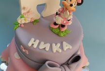 Mickey / Minnie mouse cake / Mickey  and Minnie mouse cake