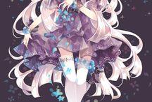Anime-tytöt