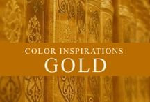 Color Inspiration: Gold