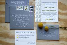 Wedding - invitations / by Katheryne Murton