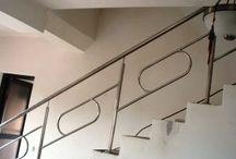 Balustrade de inox Romania / Vezi modele balustrade de inox cu preturi ieftine pe metru liniar, balustrade din inox cu insertie lemn, sticla precum si scari interioare sau exterioare.