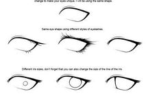 Tegne teknik med øje