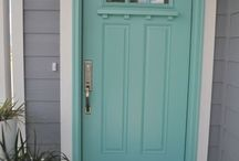 front door colours