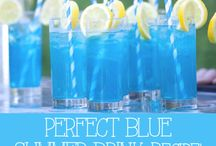 Party Drink Ideas / Alcoholic and Non Alcoholic drink inspiration