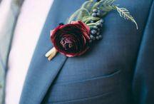 Svatební kytice ženich