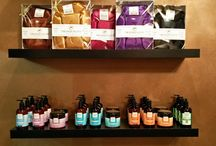 Massage Spa Aromatherapy Oils & Lotions / The organic oil and aromatherapy lotions we use during massage and spa treatments.