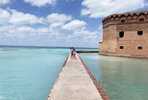 Dry Tortugas National Park with Kids / Visiting and camping in Dry Tortugas National Park in the Florida Keys with kids.