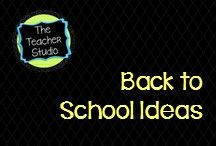 Back to School Ideas and Activities / Ideas, lessons, projects, classroom decor, bulletin boards and more to help have a successful transition back to school!