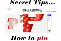 Pinterest Tips / Some useful info for using Pinterest.