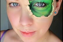 make-up ... creative stage ...