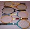 5 Vintage Tennis Rackets, 2 Rawlings & 1 Wilson, and 1 Yonex Tennis Racket / by Casey