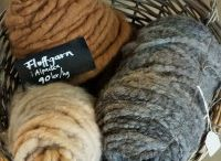 Yarn, produced in our own spinnery in Sweden.