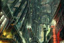 Architecture//City-SciFi-Future