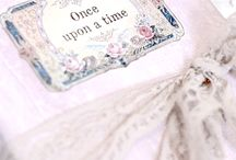 "A fairytale cottage ... / A fairytale cottage for those who believe in magic.Tell your story and end your tale with the ""Once upon a time"" book pin. No pin limits for your fairytale."