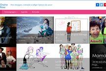 Le nouveau site de Chaîne Rose / Le site Chaîne Rose fait peau neuve pour témoigner, s'entraider et alléger l'épreuve du cancer avec de toutes nouvelles fonctionnalités