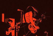illustrazioni rock