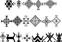 Tatouages symboles berbères amazighs