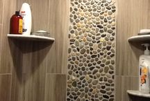 Pebble tiles / Interesting