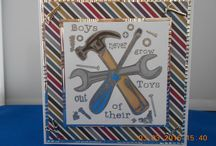 Boys to Men Cards / Handmade Cards Male
