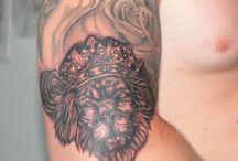 MY WORKS / мною сделанные татуировки