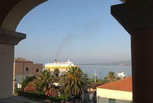 Golfo Aranci, Sardinia Italy / Our beautiful little fishing village. Www.ristorantelaspigola.com