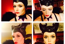 Maleficent / My Maleficent costume, and makeup:) / by Nichole Reyes