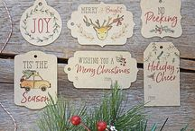 Christmas Gift Tags / A collection of fun Christmas Gift Tags to dress up your Christmas gifts this holiday season. Ranging from Classic Christmas Gift Tags to Rustic Christmas Gift Tags.
