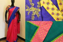 Silk Folklore! / India's rich heritage! Wear pure kanchipuram silk sarees with pride enriched with ikkat silks, banaras and silk borders to add more color to your wardrobe this Ugadi. Welcome the New Year in style wearing these Divine Drapes!