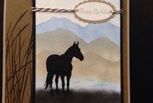 konie kartka