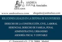 Abogados Madrid Derecho de Familia / ABOGADOS MADRID BUFETE DE ABOGADOS MADRID ANDREA LUCA & ASOCIADOS DERECHO DE LA CONSTRUCCIÓN DERECHO CIVIL DERECHO LABORAL DERECHO ADMINISTRATIVO DERECHO DE FAMILIA DERECHO PENAL URBANISMO ASESORÍA FISCAL Y CONTABLE