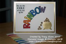 Stampin Up Over the Rainbow
