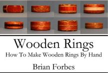 ring wooden the making