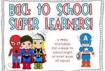 Super Hero Class Theme / by Kim Athey Feaster