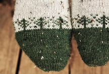 Socks knitting Strømper sokker