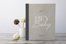 Hey Baby / A collection of modern and fresh baby inspired images in neutral greige and yellow to match our 'Hey Baby' record book!