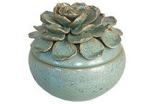 Ceramic boxes