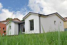 REALISATIONS MODELE NEWPORT - AMI BOIS / Quelques maisons construites par AMI BOIS et inspirées du modèle NEWPORT  Plus de renseignements sur: http://www.ami-bois.fr/