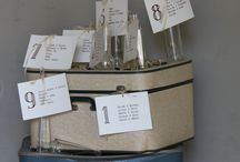 Table Seating Charts Ideas / Here are just a few of my favourite table seating chart ideas....