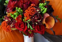 Floral Fall Decor / Wild and unique ways to bring the beauty of autumn into your home.  Using natural, seasonal material is one of our specialties!