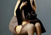Olga Egupets and other art dolls