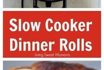 Slow cooker dinners