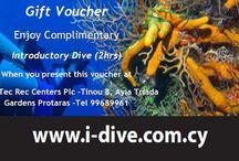 I Dive Tec Rec Centers Plc / Scuba Diving Protaras, Ayia Napa. Dive the Zenobia Wreck Cyprus. On line equipment sales, PADI,NAUI, SSI, SNSI, TDI courses available.