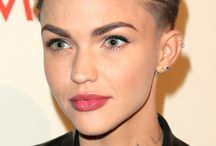 "Ruby Rose ""Orange is the new black"""