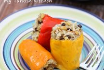 stuffed peppers turkish